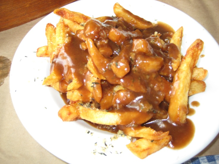 Newfie Fries!! What's better than Fries and Gravy? Newfie Fries!! Fries, gravy and dressing!!