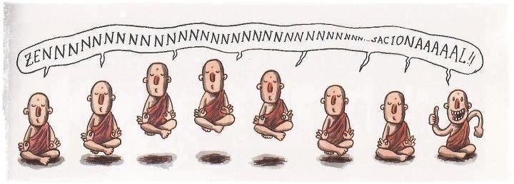 """¿QUÉ ES EL ZEN?  El taoismo chino, modo de liberación primitivo, apadrinó el nacimiento del zen, al unirse al budismo mahayana hindú. La fusión de ambas filosofías dieron nacimiento al """"zen"""". El zen se basa en una sencillez de principios incomunicables con la palabra, más bien con una simple sonrisa.   El zen es un método budista para conseguir una comprensión directa de la realidad (de la vida)."""