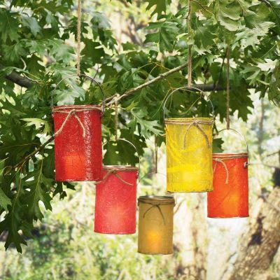 Bucket Lanterns
