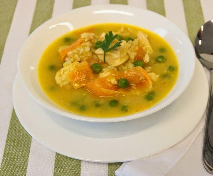 THERMOMIX: Sopa de legumes com frango e arroz integral