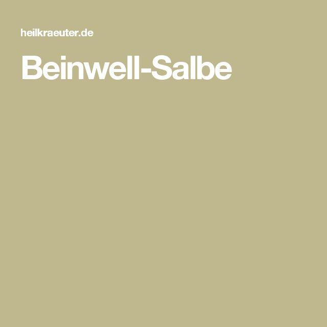 Beinwell-Salbe