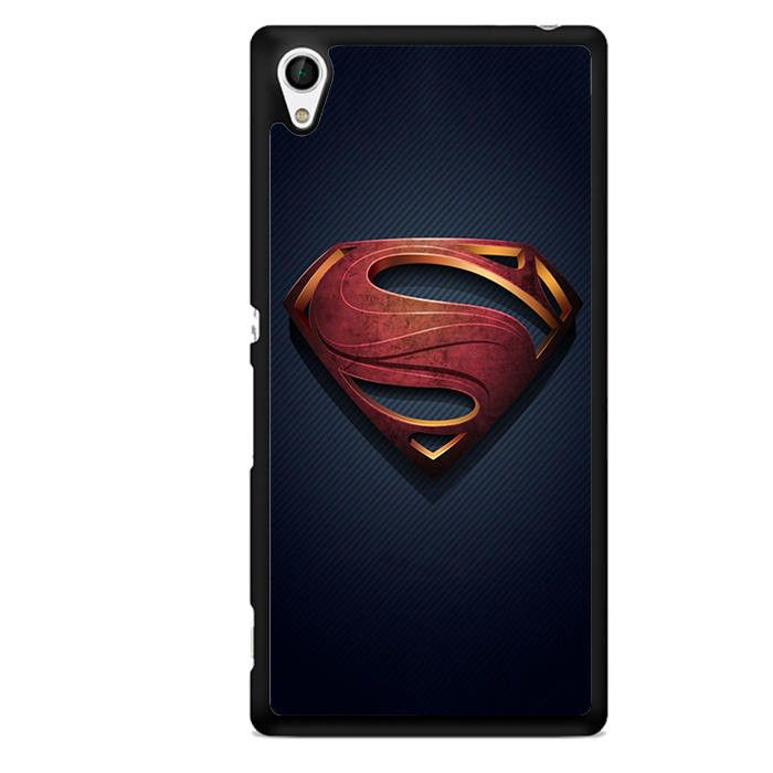 Man Of Steel Suit TATUM-6826 Sony Phonecase Cover For Xperia Z1, Xperia Z2, Xperia Z3, Xperia Z4, Xperia Z5