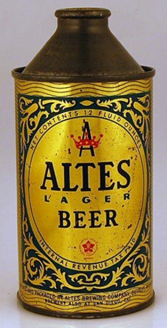 Altes Lager Beer , Detroit , circa 1940's