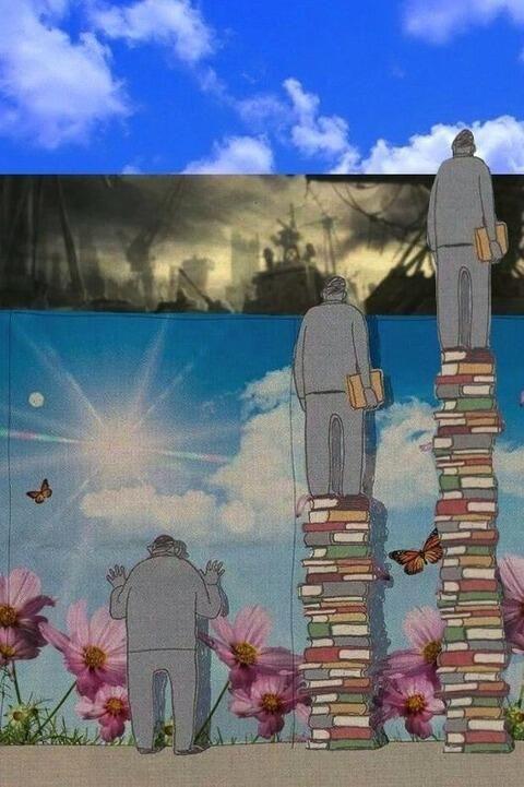 承前) もっと本を読んであるレベルまで達するとこうなります。→
