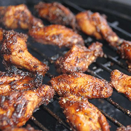 BBQ SPICE RUBBED CHICKEN WINGS