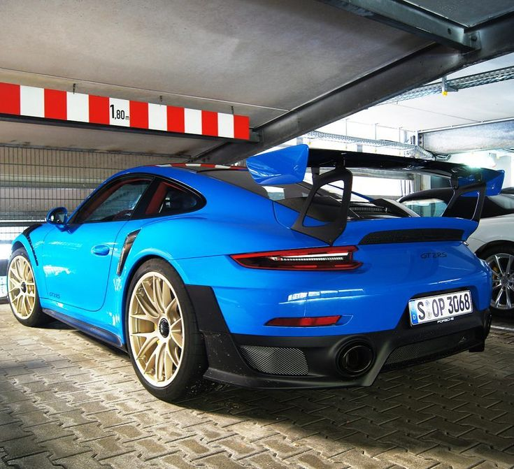 VooDoo Blue PTS 991 GT2 RS anyone?  | Photo via @carchitecturism | #Porsche #GT2RS #VooDooBlue #PTS