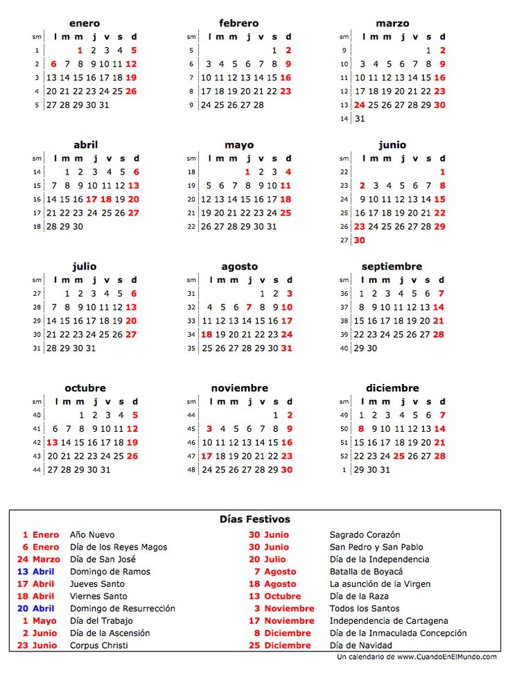 25 beste idee n over calendario 2014 colombia op for Calendario lunar de octubre 2016