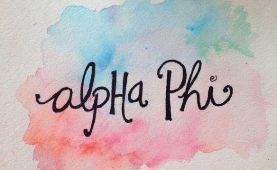 Alpha Phi Kent State