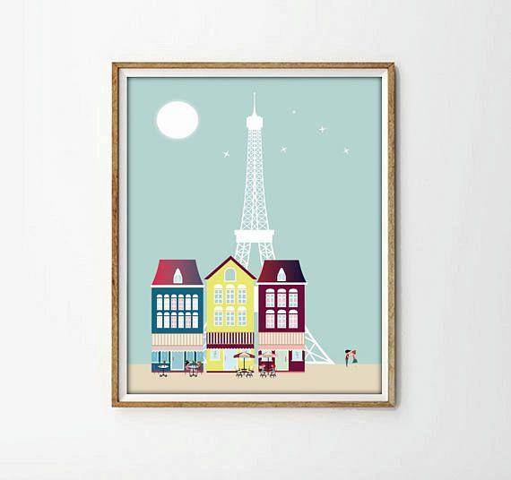 Laminas Paris poster Paris laminas a4 laminas a3 laminas