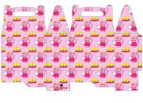 Peppa Pig Fairy: Free Printable Lunch Box.