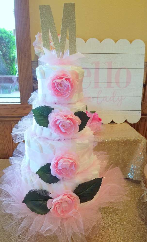 Pink U0026 Peony Baby Shower Baby Shower Party Ideas