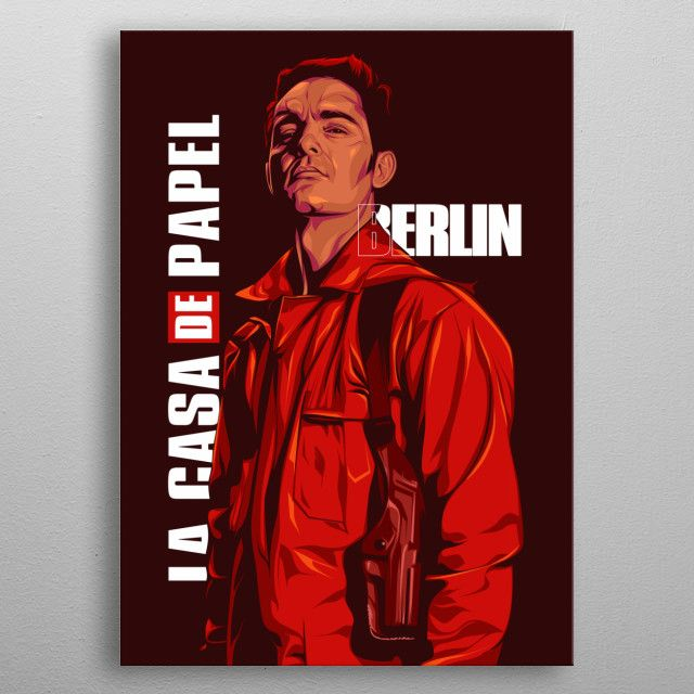 Money Heist Berlin Poster Prints Graphic Design Posters Berlin