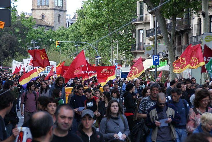 Manifestacio barcelona primer de maig alternatiu 2009.JPG