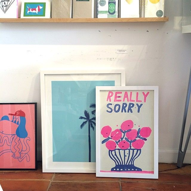 Shop and gallery, super cool stuff and books