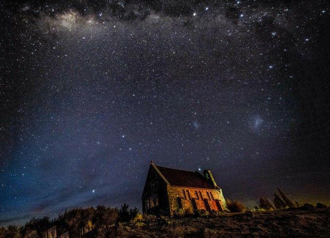 世界初の星空世界遺産?ニュージーランド「テカポ湖」の美しすぎる満点の星空   RETRIP