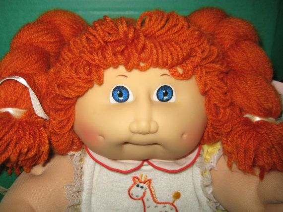 Cabbage Patch Kid Girl In Box Gorgeous Red Head Ginger