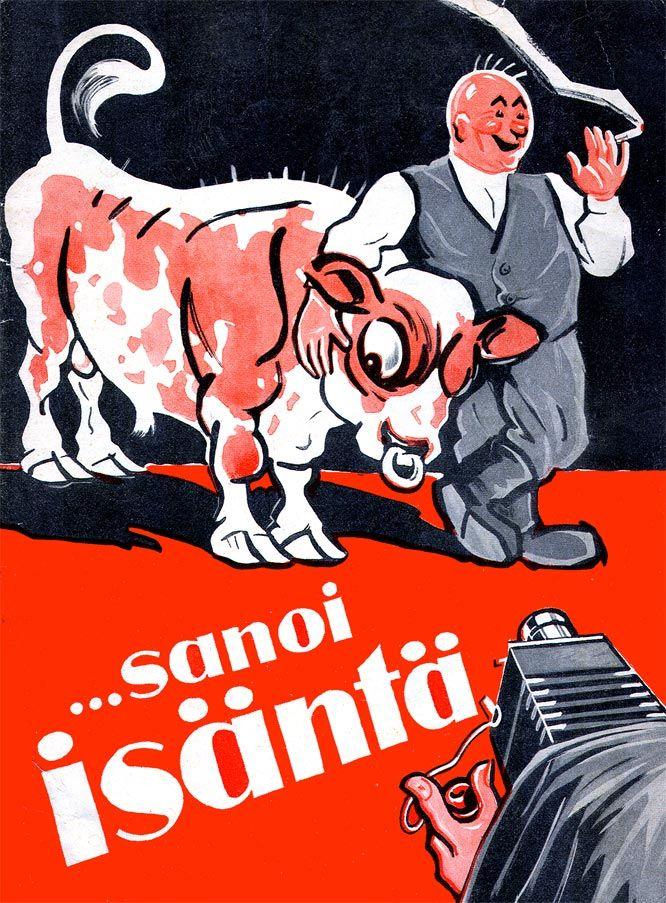 Mainos: Saimaa-tupakka ...sanoi isäntä (1932)