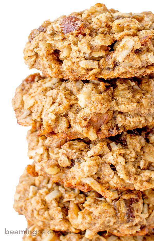 Good Morning Breakfast Cookies http://www.changeinseconds.com/good-morning-breakfast-cookies/ #vegan #glutenfree