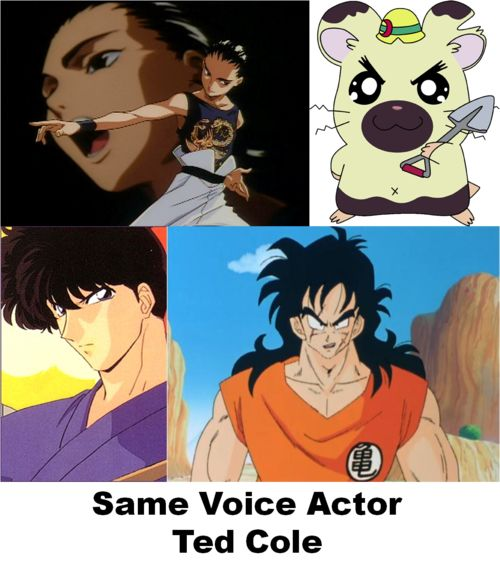 Same Voice Actor - Ted Cole