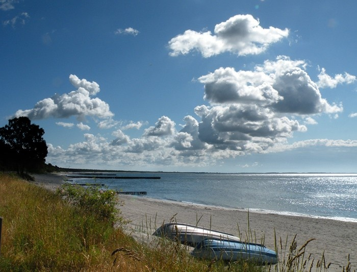 Ystad beach, Sweden
