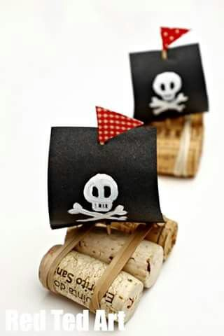 Cork Pirate ships