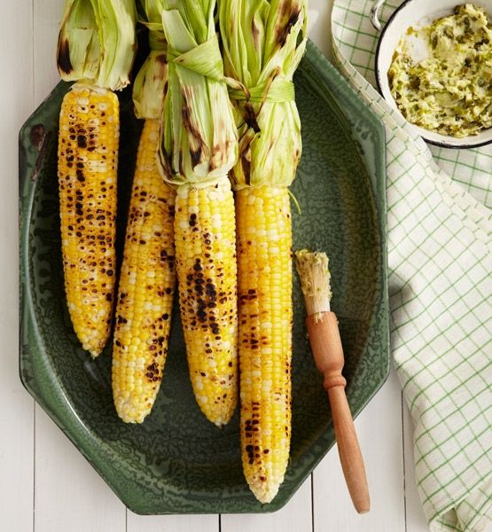 grilled corn and other backyard necessities