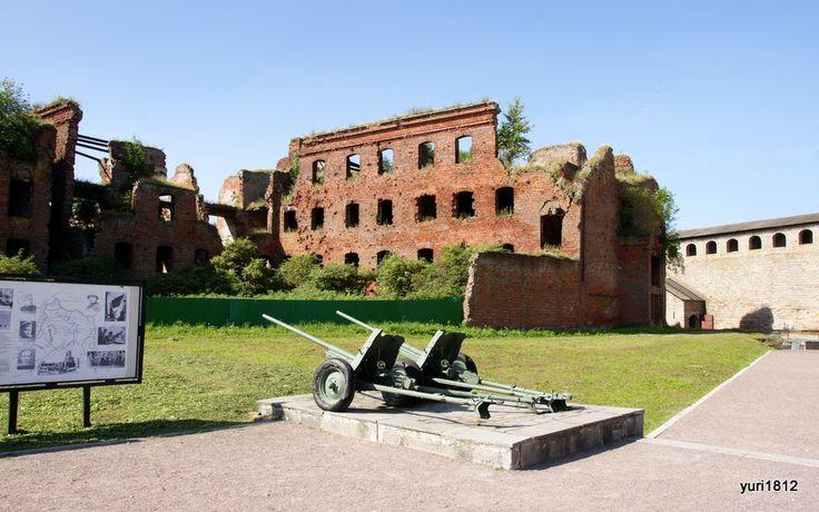 Руины IV Тюремного корпуса