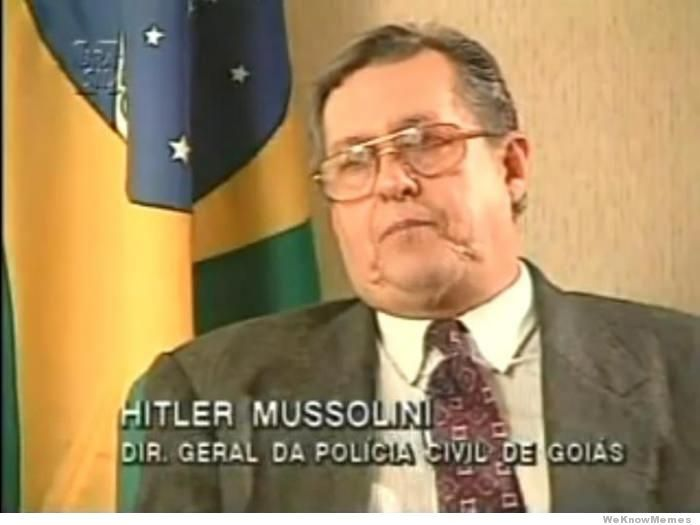 Hitler Mussolini The Worst Name Ever