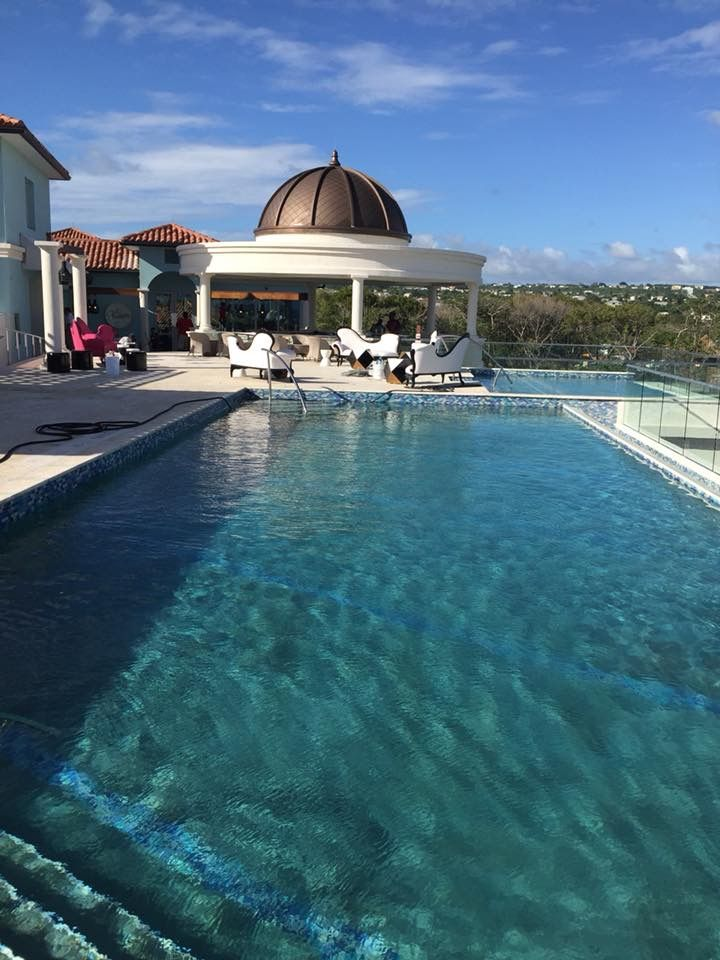 84741a89b47db Rooftop pool. Find this Pin and more on Sandals Royal Barbados ...