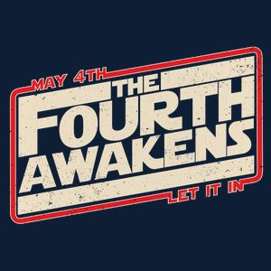 The 4th Awakens now available in my new Neatoshop.com store. #star wars #maythe4th #tshirt #tee #teedesign