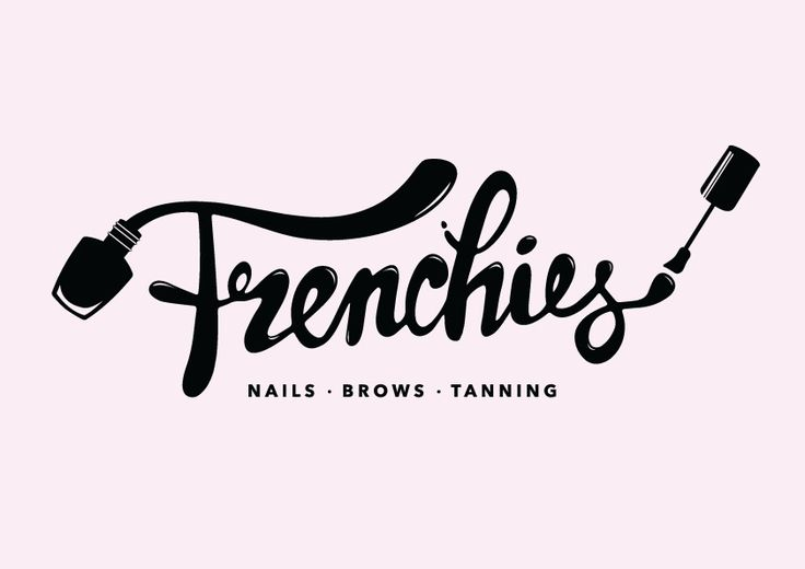 Frenchies Nail Salon Branding - Meagan Mills Portfolio - The Loop
