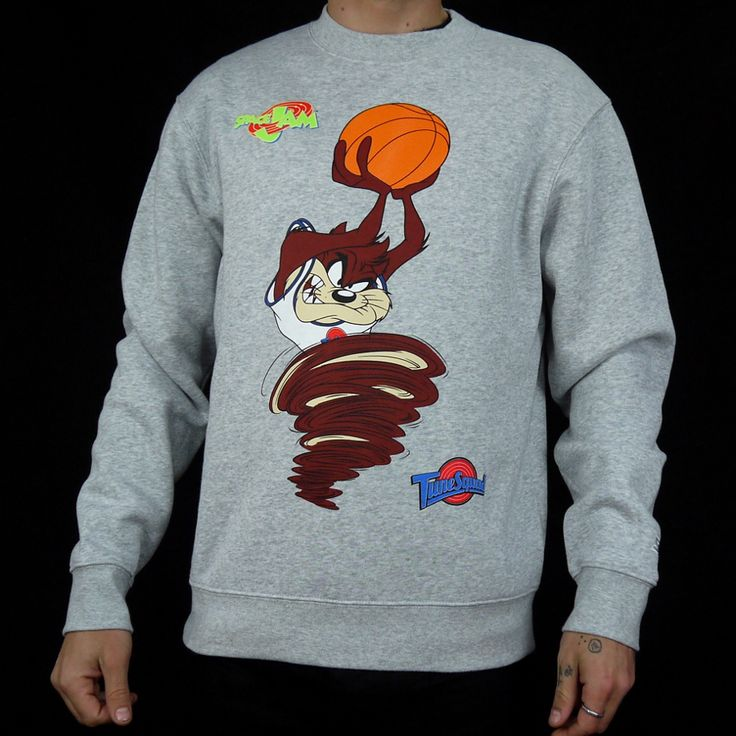 STARTER x SPACE JAM DUNK TAZ CREWNECK | Ministry Of Concrete