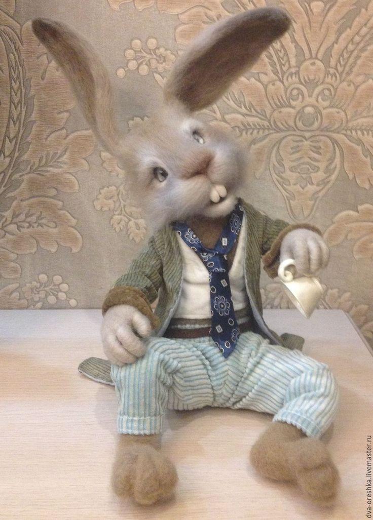 Купить Мартовский заяц из Алисы - мартовский заяц, алиса в стране чудес, коллекционные игрушки