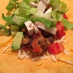 Vegan Bean Taco Filling Recipe and Video | Vegan recipes | Pinterest ...