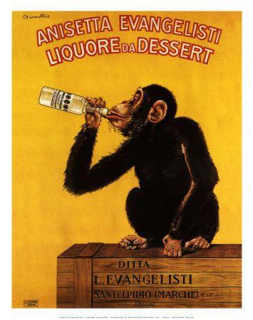 Liquore da Dessert (Anisetta) Art Print