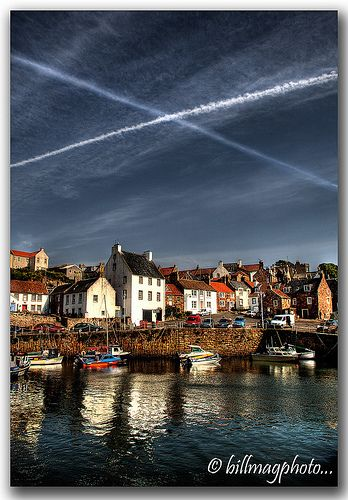 Saltire in the Sky -  Crail