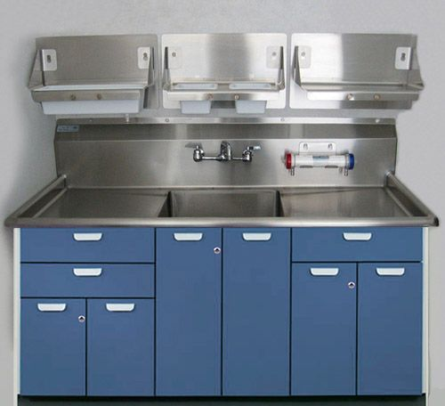 Metal Cabinets Kitchen: 25 Best Stainless Steel Integrated SinkTop Images On