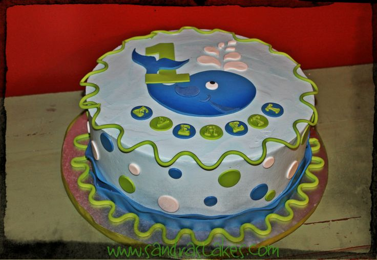 whale baby shower cakes - Google Search