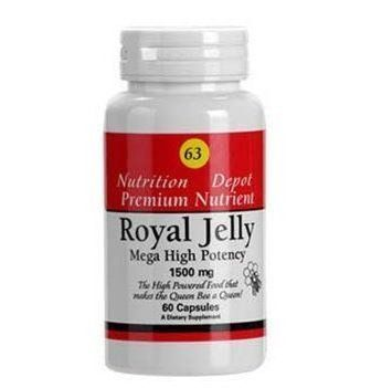 Supplement Depot  63 Royal Jelly - 60 capsules -- Click on the image for additional details.
