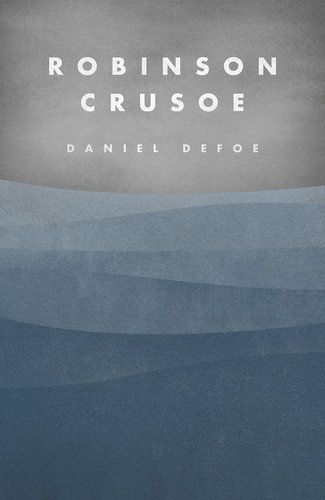 Crowdsourced book cover for Robinson Crusoe