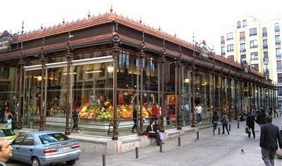 mercado de san miguel, madrid. cheese platters, cava, tapas, sangria, oh my