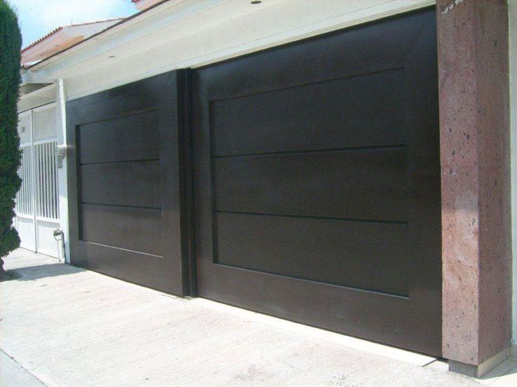 Best 25 portones de garage ideas on pinterest porton for Portones de hierro para garage