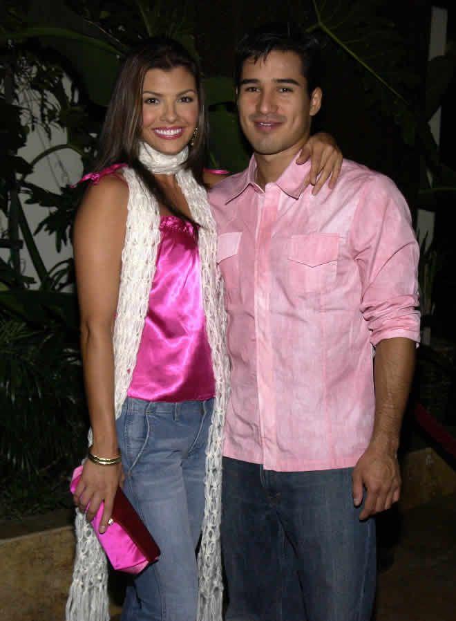 Mario Lopez and Ali Landry