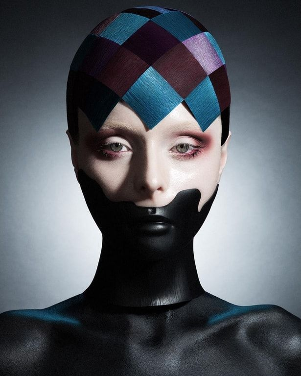 Hair & Masks Viktoria Otto, D. Machts Group, Berlin   Photo Heks Sascha Haubold   Post Nina Post   Make-up Janine Bohn