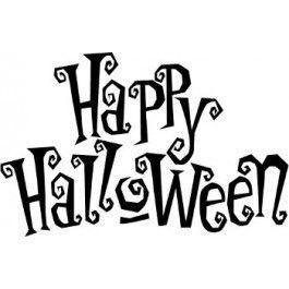 Happy Halloween Die-Cut Decal Car Window Wall Bumper Phone Laptop