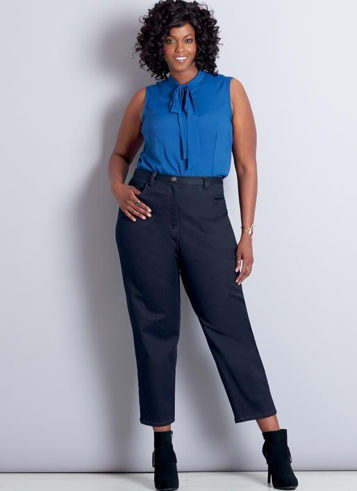 McCall M7754 Misses'/Women's Shorts and Pants by Palmer/Pletsch #sewingpattern #perfectpants #sewcuteshorts