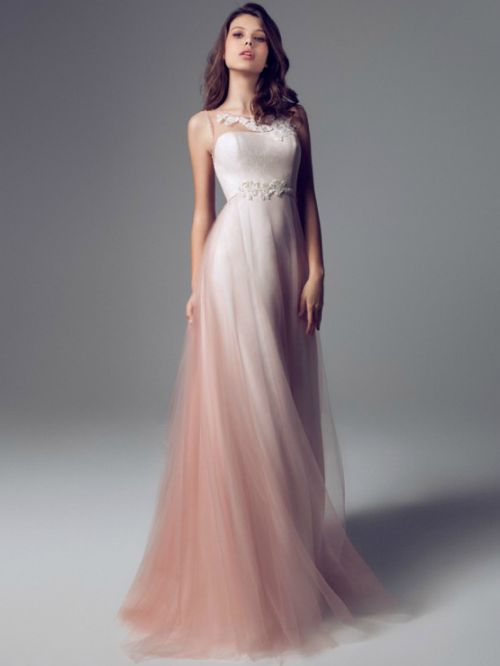 25 best ideas about ombre wedding dress on pinterest for Pink ombre wedding dress