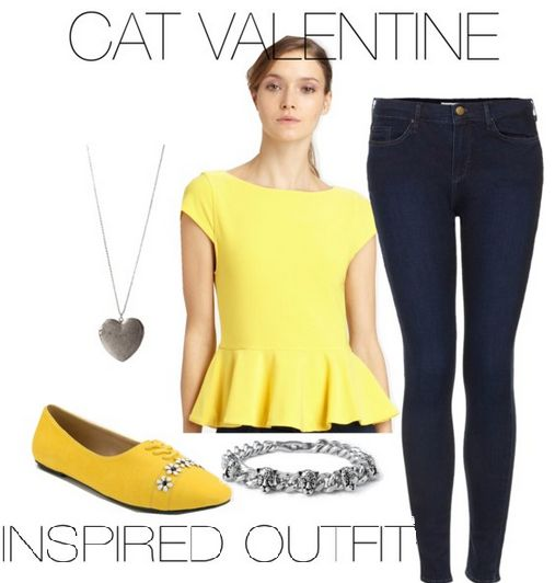 "This is an Inspired Outfit for the outfit worn by Cat Valentine (Ariana Grande) in the episode of Sam & Cat, ""#MommaGroomer""  **Make sure you check out www.allaboutsamandcat.com for more posts!"