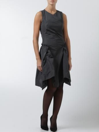 Carven-abitino grigio antracite-anthracite grey dress-Carven shop online