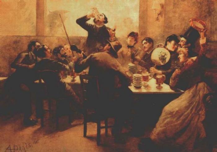 BOHEMA> Skupiały one przedstawicieli wielu dziedzin twórczości : poetów, dramaturgów, malarzy, aktorów. Wyznawali oni zasadę sztuka dla sztuki. Zachowanie cyganerii ( inna nazwa bohemy) odbierane było jako swoisty bunt obyczajowy wymierzony przeciwko filistrom.